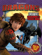 How to Train Your Dragon - Core Deluxe Colouring and Puzzle Book