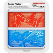 New 3DS Cover Plate No 21 Pokemon Ruby Sapphire