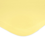 Carter's Jersey Knit Fitted Bassinet Sheet, Leaf/Yellow