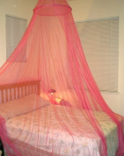 Hoop Bed Canopy Mosquito Net for Crib, Twin, Full, Queen or King Size Bed and Travel Outdoor Events