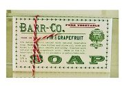 Barr-Co Fir and Grapefruit Moisturising Bar Soap 180ml