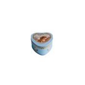 LE BLANC - Heart Soap in Tin Box with Cherub Angel