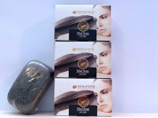 Sea of Spa - Special KIT - Dead Sea Minerals Black Mud Soap of 3 x 125gr