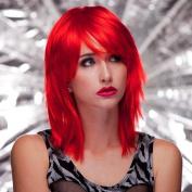 Fashion Wig - Blush Kharma, Firecracker RED