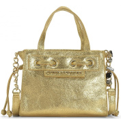 Juicy Couture Gold Leather Mini Mini Daydreamer Bag
