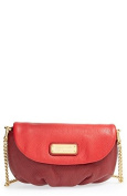 Marc By Marc Jacobs 'New Q - Karlie' Crossbody Flap Bag - Red