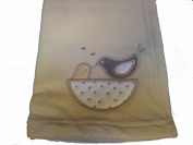 Little Birds Baby Pram Buggy Moses Basket Blanket
