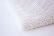 Super Soft Cashmere Baby Blanket - Pure 100% Cashmere - Colour 'White' - made in Scotland by Love Cashmere - RRP £150