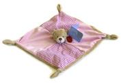 Keel Toys Baby's 1st Bear Comforter Blanket 28cm Pink