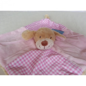 Keel Toys Baby's 1st Puppy Comforter Blanket 28cm Pink