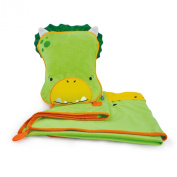 Trunki SnooziHedz Travel Pillow and Blanket - Dudley the Dino