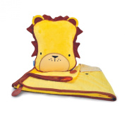 Trunki SnooziHedz Travel Pillow and Blanket - Leroy the Lion