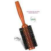 Donegal - Hair Styling ECO Natural Round Hair Brush Curler Brush Boar Bristle 28/58 mm Large