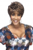 Vivica A Fox AMY Wig Pure Stretch Cap 100% Hand Stitched All Day Comfort 1