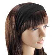 Tinxs Women Girl Elastic Hairlines Multi-Use 3 In 1 Hair/Head Wrap Alice Band Bandana Valentines Gift.