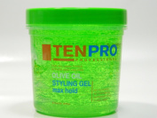 TenPro Olive Oil Styling Gel Max Hold **For All Hair Types** 473ml