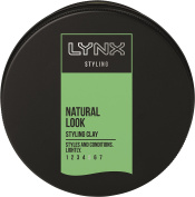 Lynx Natural Styling Clay 75 ml Pack of 3