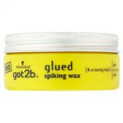Schwarzkopf got2b Glued Spiking Wax 75 ml - Pack of 6