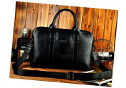 Briefcase for Men Luxury Carrying Bag for Laptop Computer Case Document Holder
