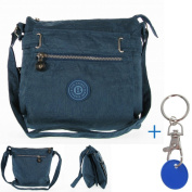 chronotom Women's Cross-Body Bag blau / petrol 27.5cm, 12.5cm, 28cm,