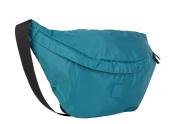 Teal Green Nylon Bum Bag Large Waist Bag Travel Bag by Art Sac