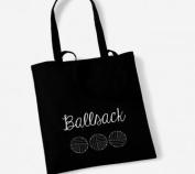 Ball sack Crochet/Knitting Cotton Tote Bag Present Crafter Stash Yarn Wool
