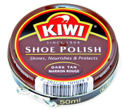 KIWI Shoe Polish Dark Brown 50ml