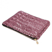 Women's Glitter Sequins Clutch Evening Party Clutch Bag Purse