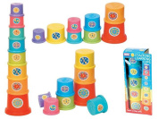 Stacking Learning Cups - Suitable From 12 Months +