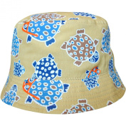 Baby Boy's Turtles Design Holiday Bucket Style Summer Sun Beach Hat