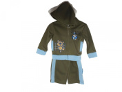 Baby Boy 'Let's Play Football' Tracksuit Colour Brown