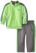 PUMA - Kids Babys Infant Pieced Tricot, Jasmine Green, 12 Months Colour