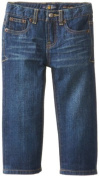 Lucky Brand Baby-Boys Infant Sherman Billy Jean, Blue/Black Tint, 12 Months Colour