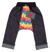 Oishi-m Unisex Baby Meant To Be Skinny Jean Yellow/Blue/Orange 2-3 years Size