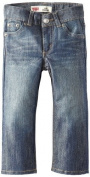 Levi's Little Boys' 514 Straight Fit Jean, Stow Away, 4T Colour
