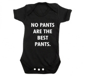 No Pants Are The Best Pants Baby Grow T Shirt Top Hipster Tumblr Coco Celine