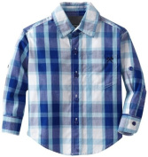 Woolrich Baby-Boys Infant Palid Shirt, Blue, 18 Months Colour