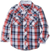 KANZ Baby Baby-Boys Newborn Multi Colour Shirt, Y/D Cheque, 12 Months Colour