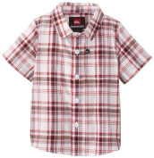 Quiksilver Baby-Boys Infant Engineer Pat Shirt, Original Red, 12-18 Months Colour
