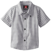 Quiksilver Baby-Boys Infant Swamis Shirt, Navy, 12-18 Months Colour