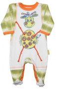 HooligansKids Baby Boy's Babygrow 18/24m Fair Trade All in One Sleepsuit - Made in South Africa