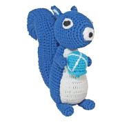 Sindibaba Hand-Crocheted Squirrel with Nut/ Acron