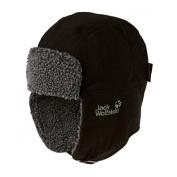 Jack Wolfskin Stormlock Shapka Trapper Hat - Black