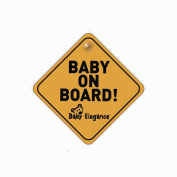 Baby Elegance Baby on Board Sign