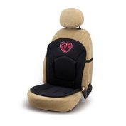 Bottari SpA 29052 My Heart Seat Cushion - Black/ Pink