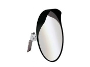 H9K - CONVEX SECURITY AND SAFETY MIRROR 40CM FOR DRIVEWAY SAFETY & SECURITY