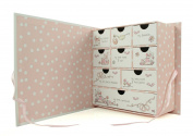 Baby Girl Compartment Keepsake Box Gift - A Precious Little Girl Gift