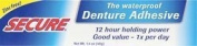 Secure Denture Bonding Cream Secure 40ml Cream by Secure