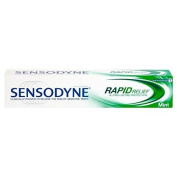 Sensodyne Rapid Relief Toothpaste Daily Use for Sensitive Teeth 50ml Travel Size