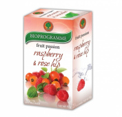 Delicious Blend Fruit & Herbal Tea Raspberry, Rose Hip and Orange Peels +SCVG*